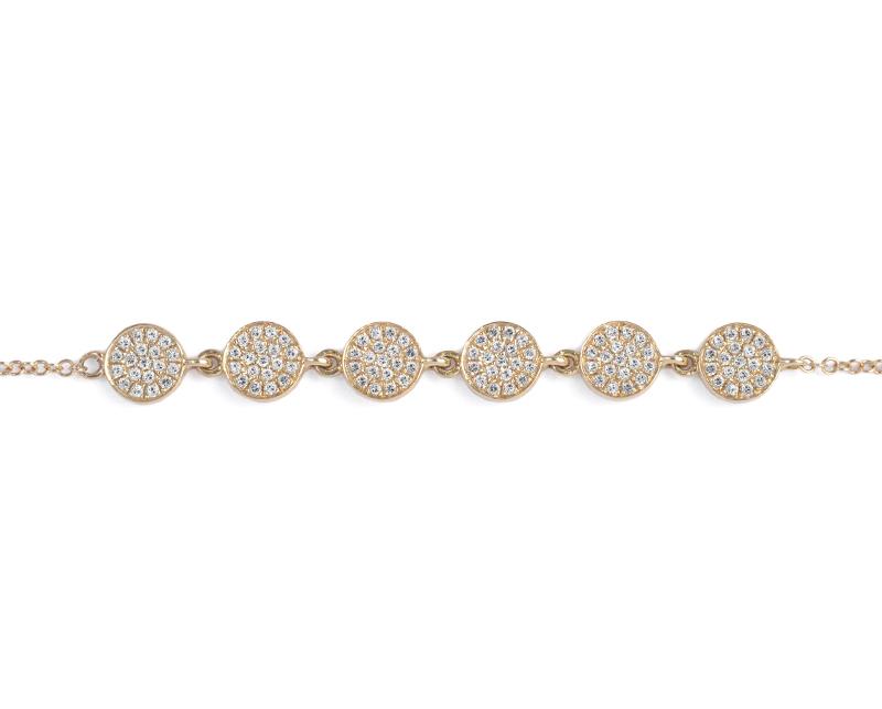 Pulsera con diamantes modelo Mila-2