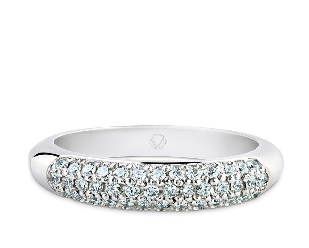 Cintillo Plenty Oro Blanco y 40 diamantes de 1 pt