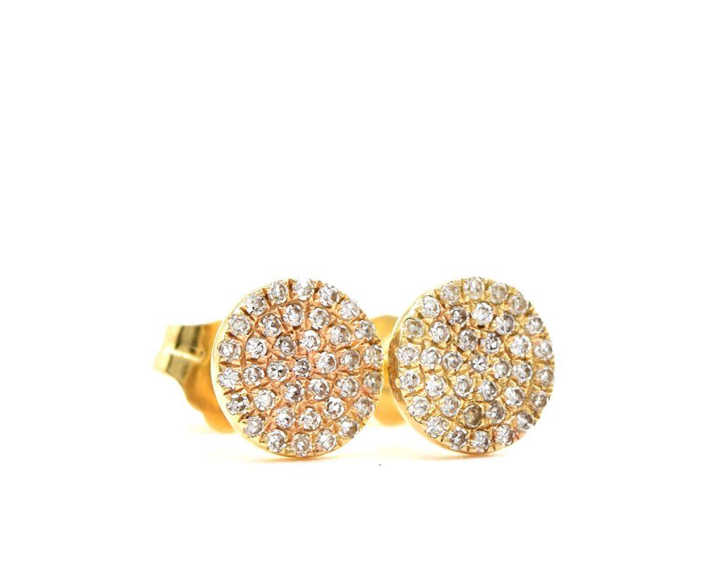 Oro Amarillo 18k y 76 Diamantes que suman 22 pt