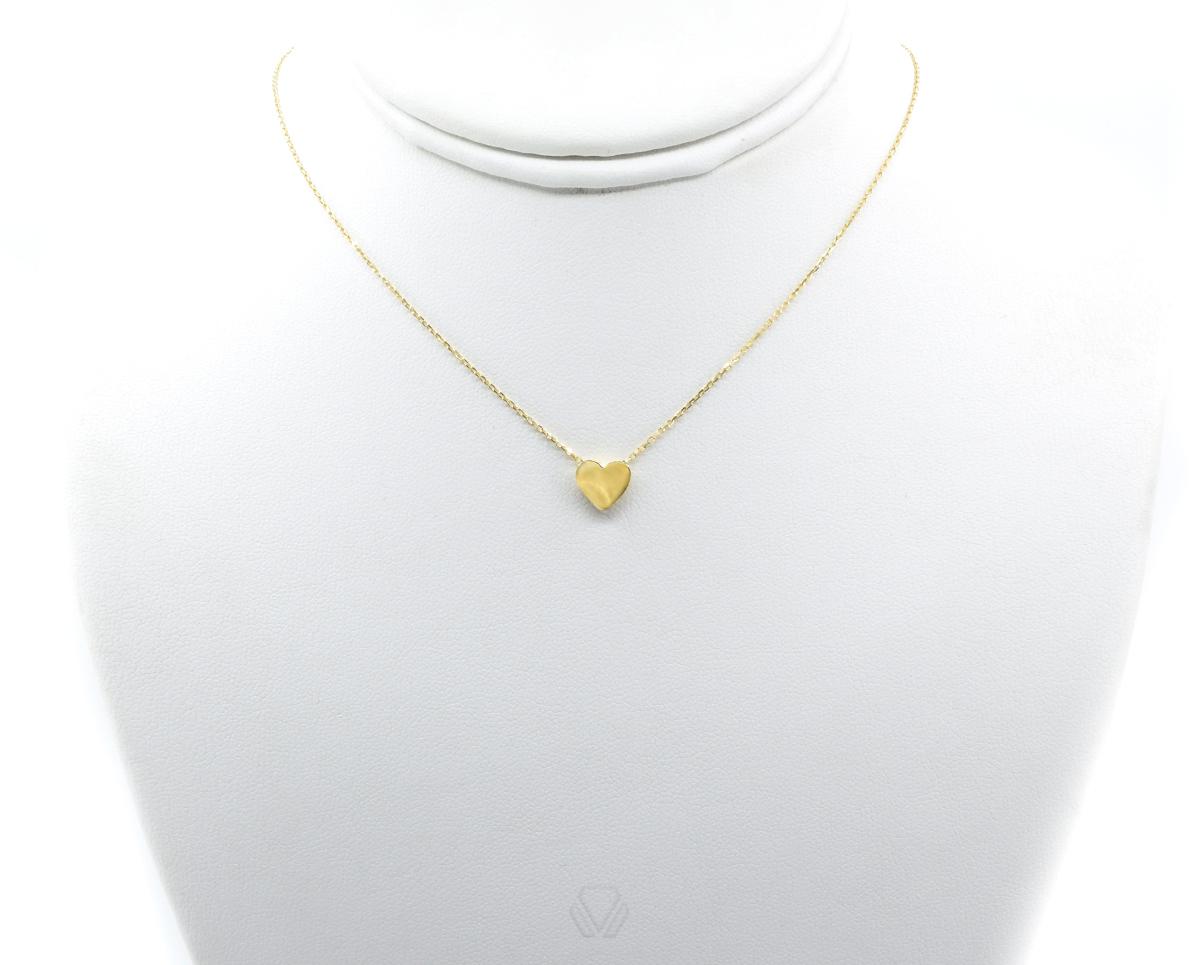 Colgante Oro Amarillo 18k con 1 Cadena 45cm