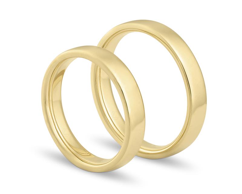 Argollas de Matrimonio Corte Almendra