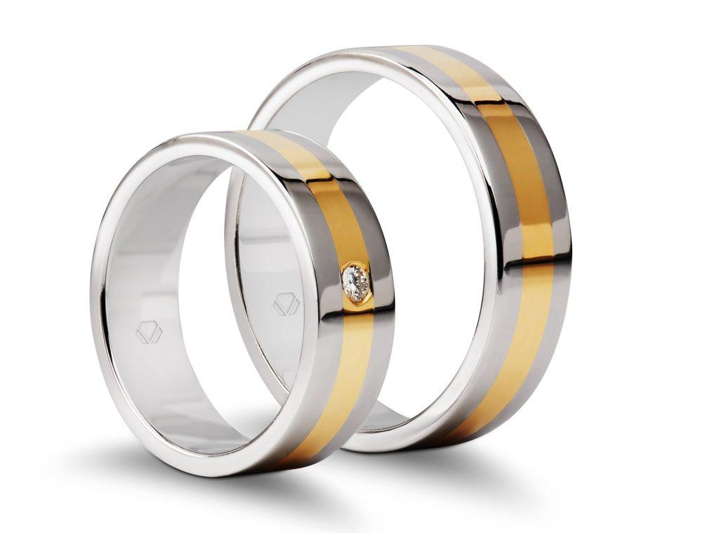 Argollas de matrimonio linea deux