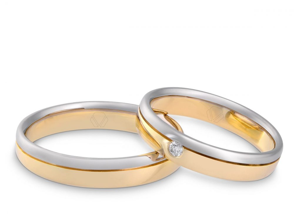 Argollas de matrimonio One Side