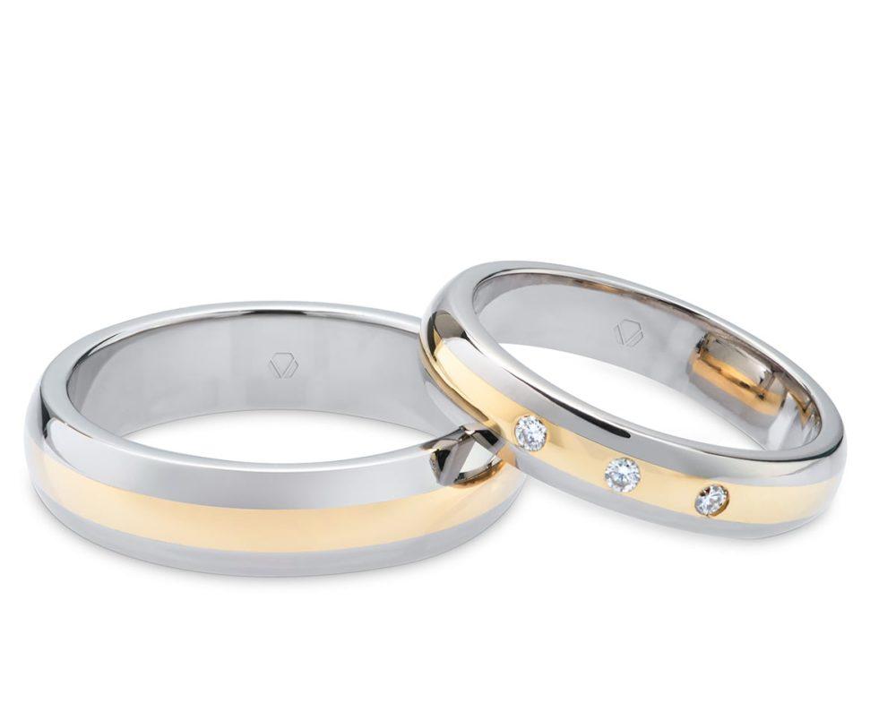 Argollas de Matrimonio modelo Triumph